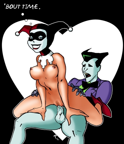 and hentai harley quinn joker Panty and stocking with garterbelt brief