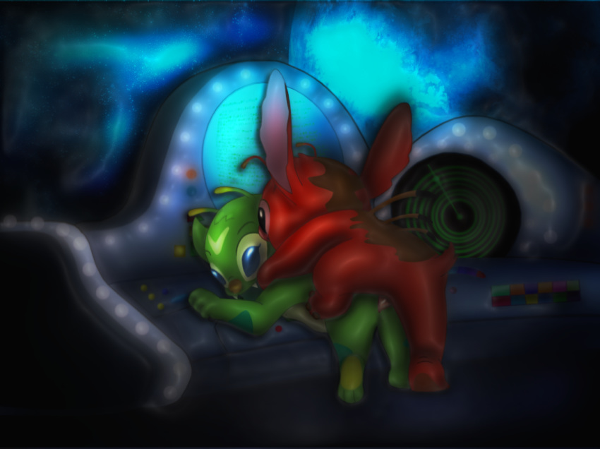 alien stitch and yellow lilo Five nights at freddy's sister location funtime foxy